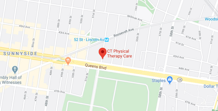 Google map of CT Physical